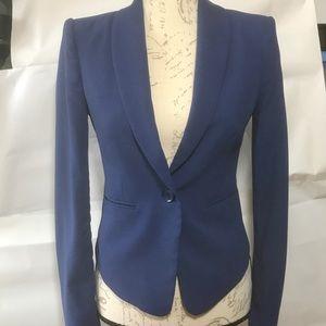 BCBG, MaxAzria, blue blazer, XS